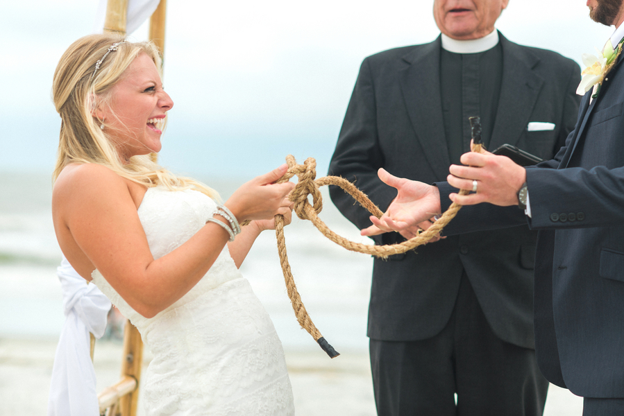 Nautical Wedding at Hilton Head Island by Priscilla Thomas Photography