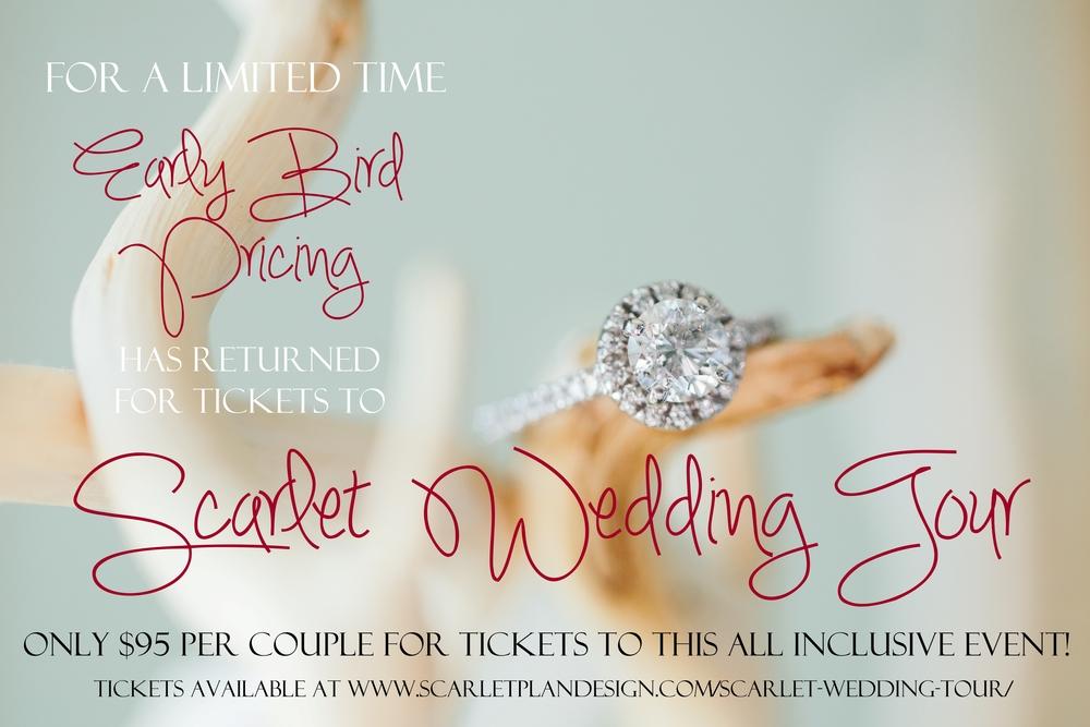 Charleston Wedding Event - Scarlet Wedding Tour
