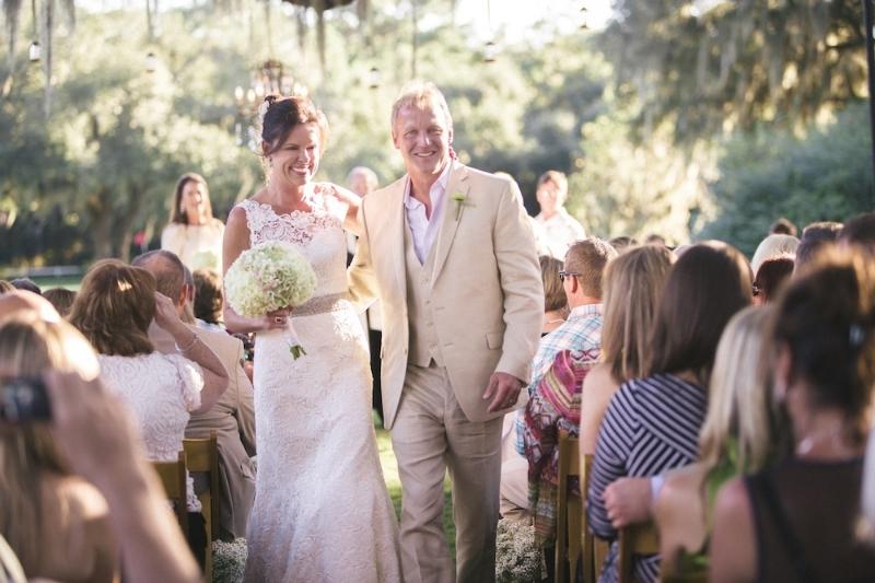 Myrtle Beach wedding at Caledonia Golf Course