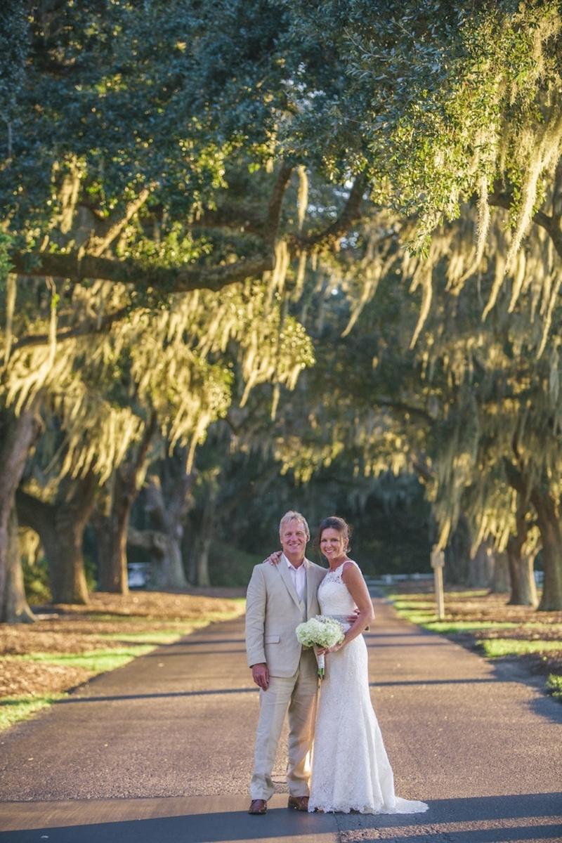Pawleys Island wedding at Caledonia Golf Course