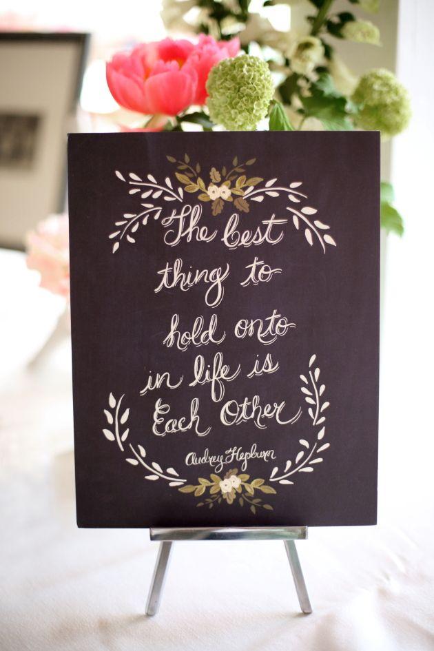 Image by Dasha Caffrey via Bridal Musings