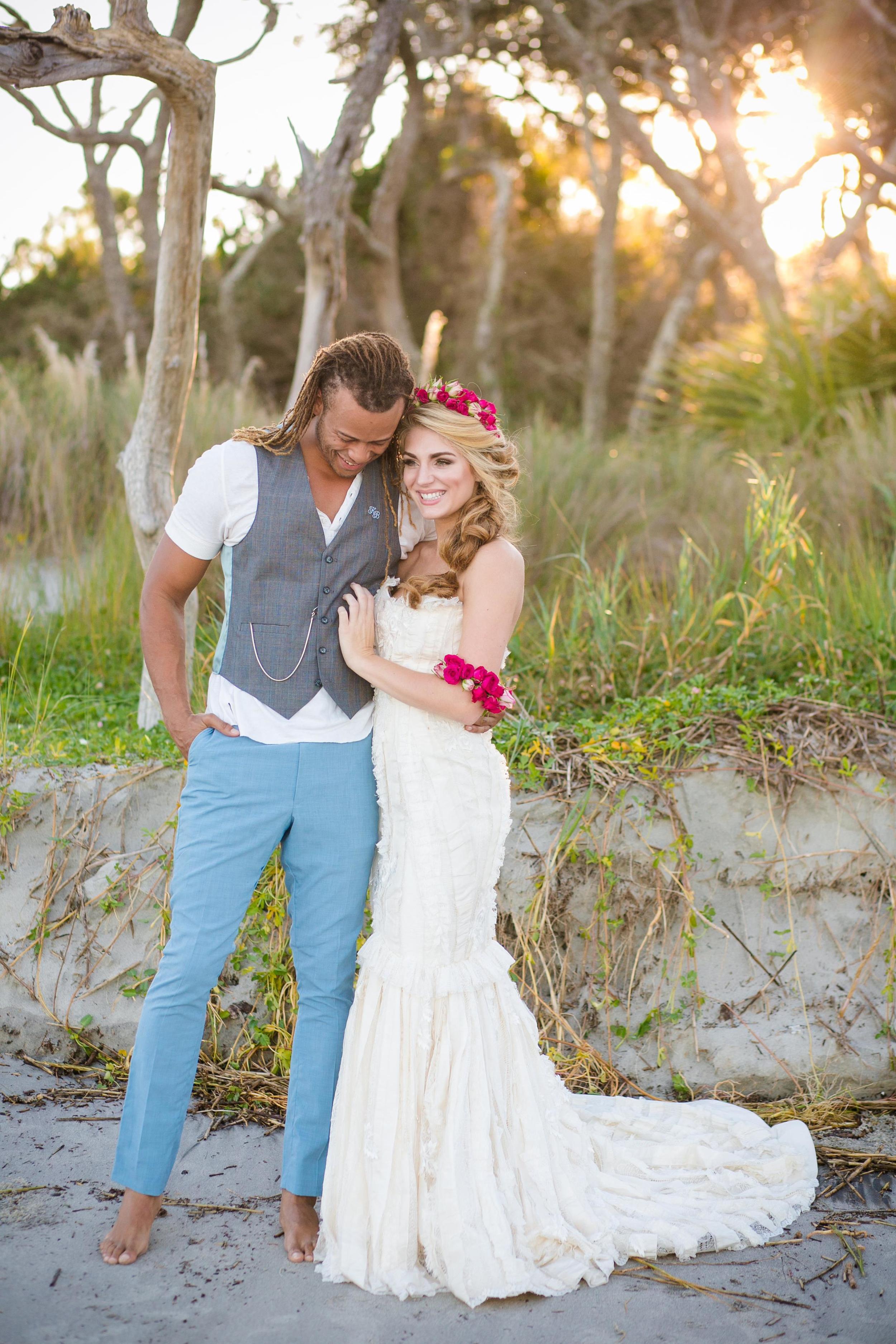 Boneyard Beach wedding inspiration