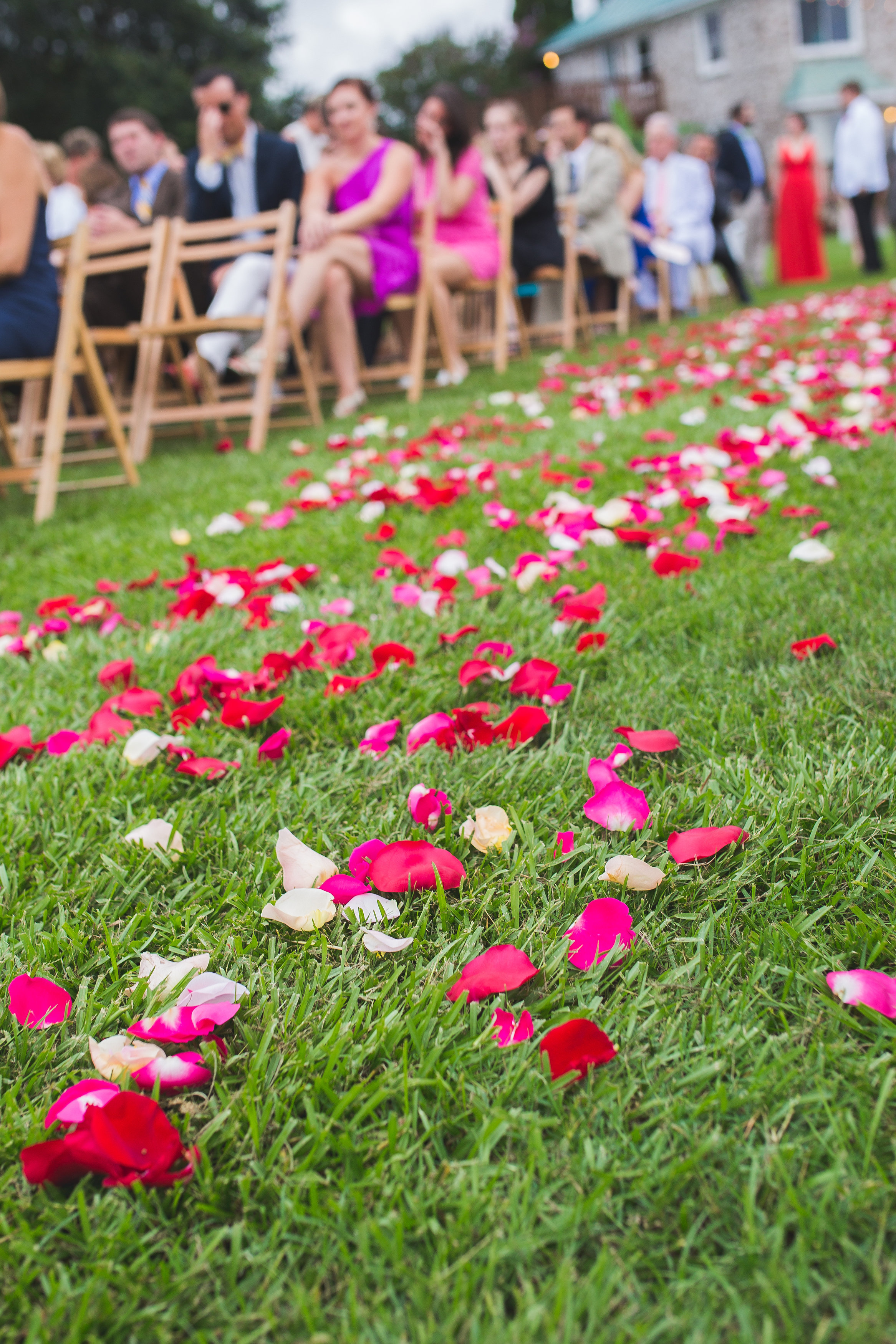 Pink & Red Charleston Wedding