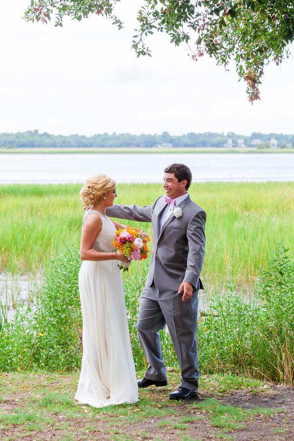 Charleston Wedding First Look