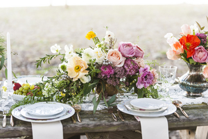 Colorful Skidaway Island Inspiration shoot by Diana Daley Photography