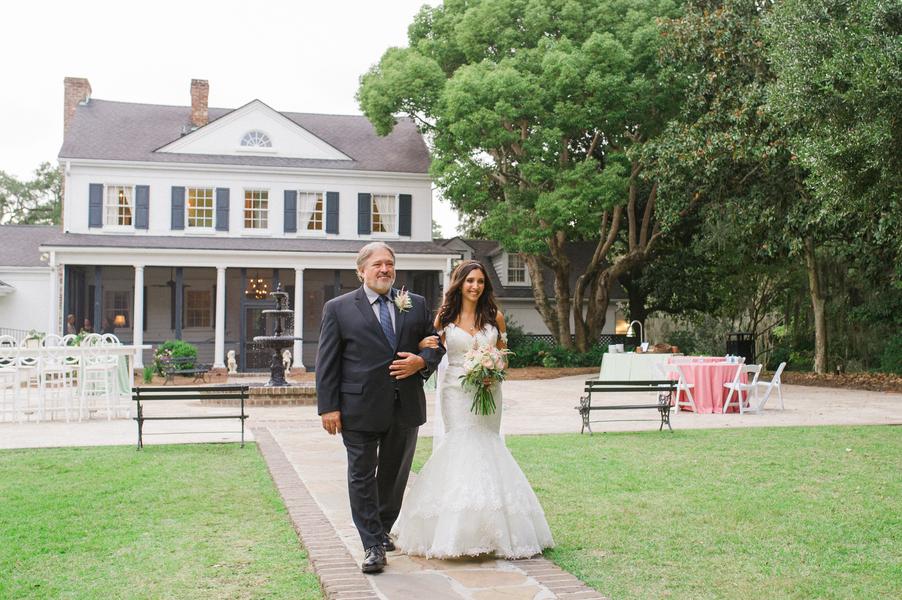 Legare Waring House wedding ceremony