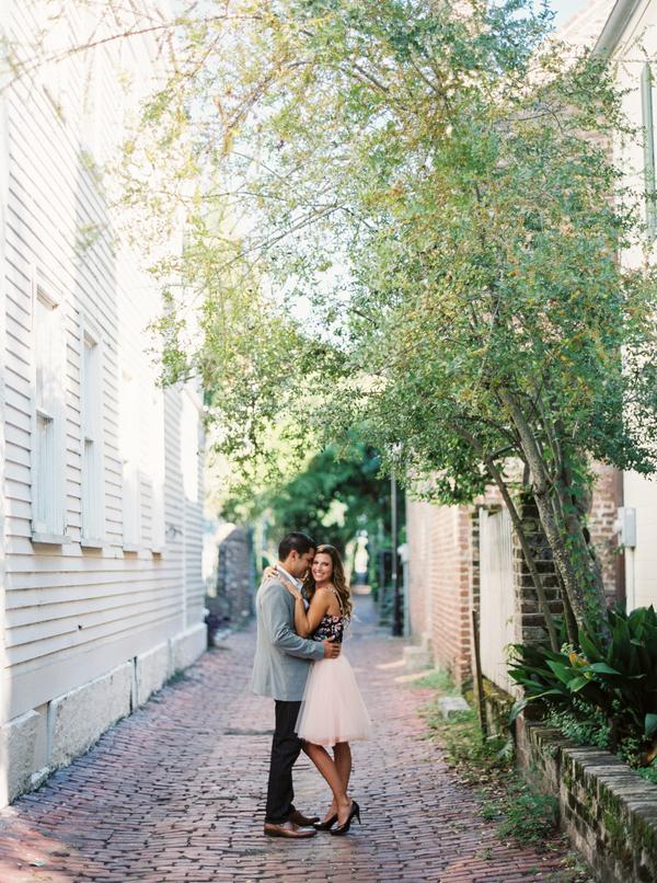 Charleston Wedding engagement