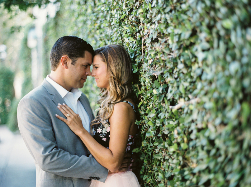 Downtown Charleston engagement by JoPhoto