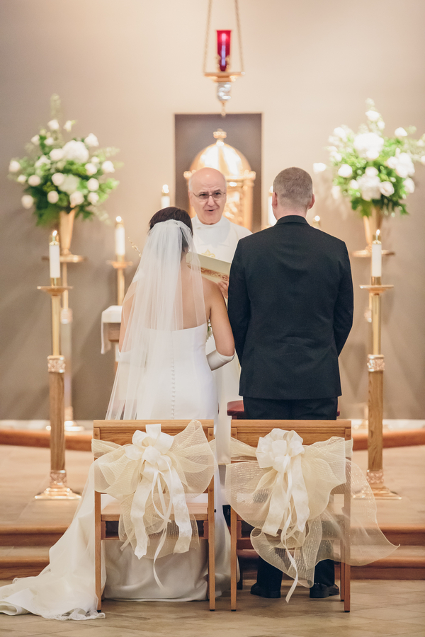 St. Benedict's Catholic Church wedding