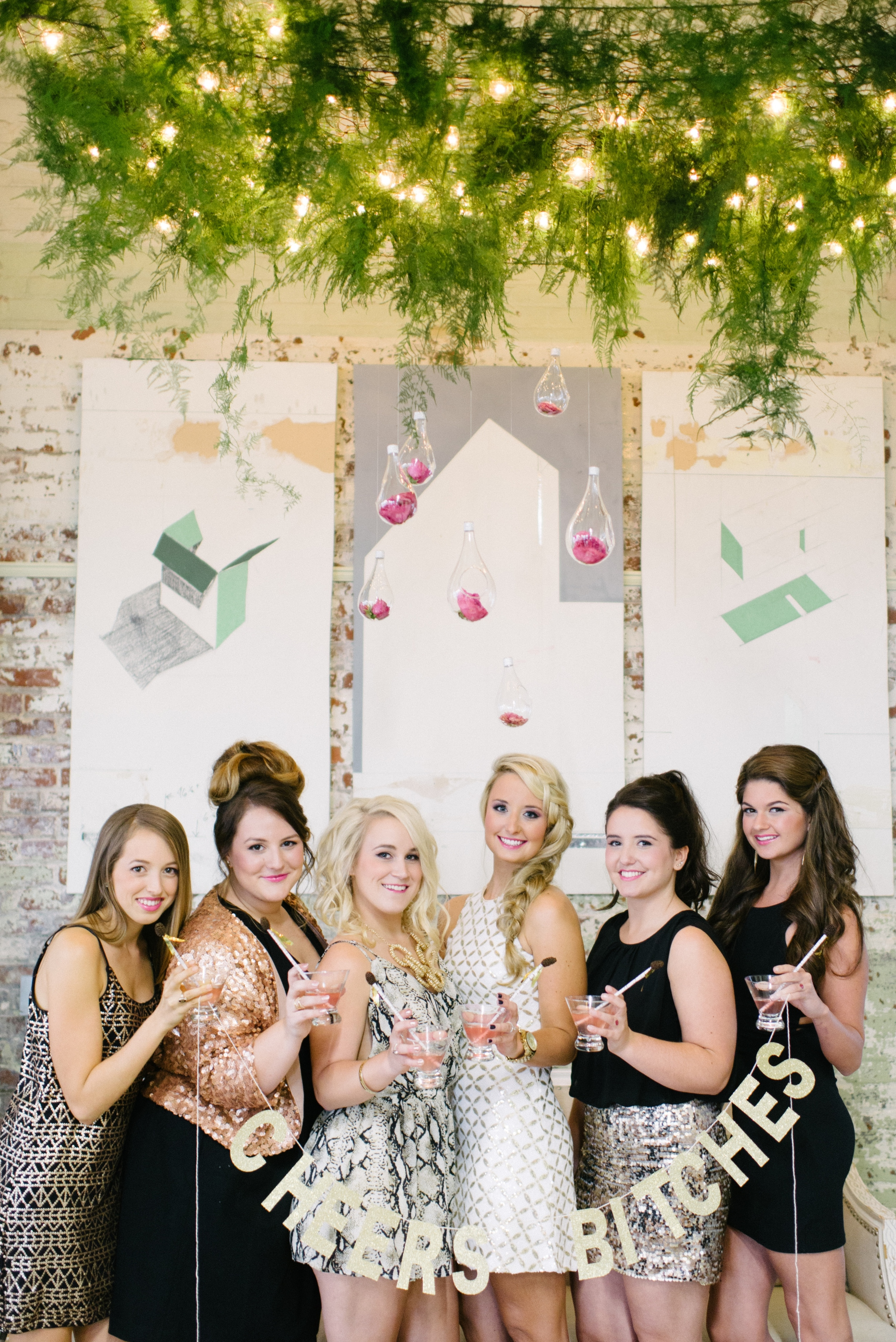 Modern Magnolias at Hilton Head Bachelorette Party