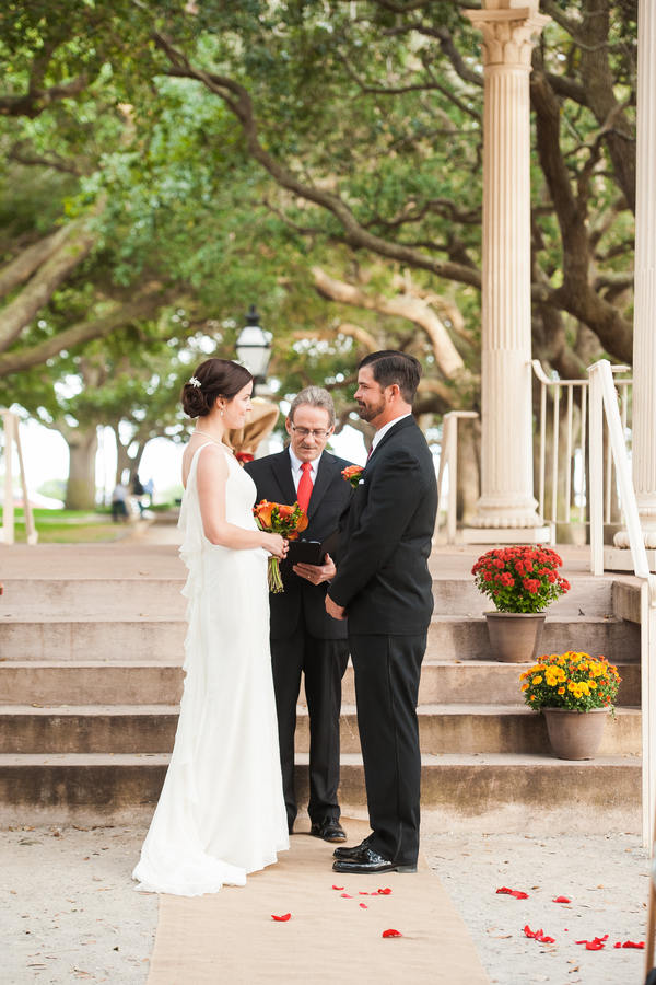 Caroline & Wilson's White Point Gardens wedding