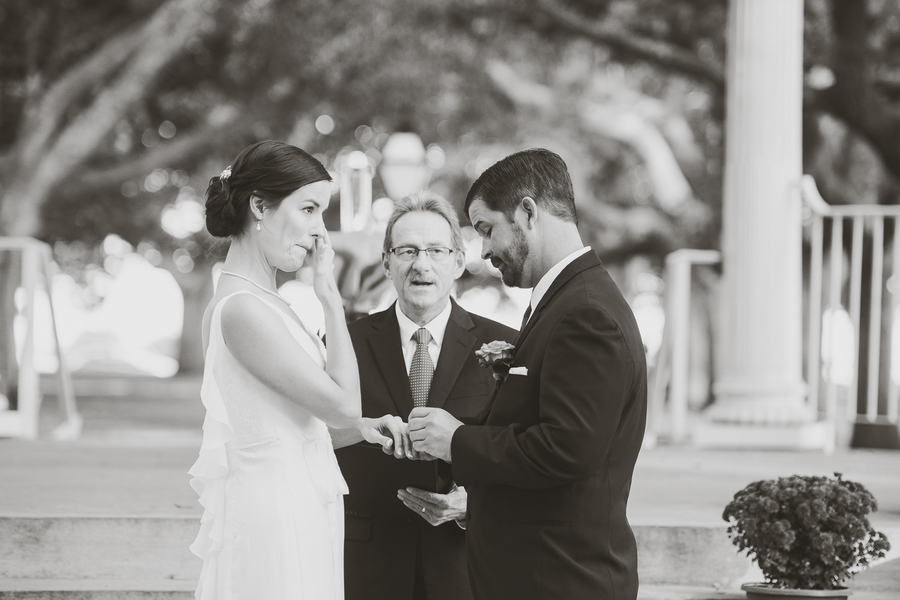 White Point Gardens wedding