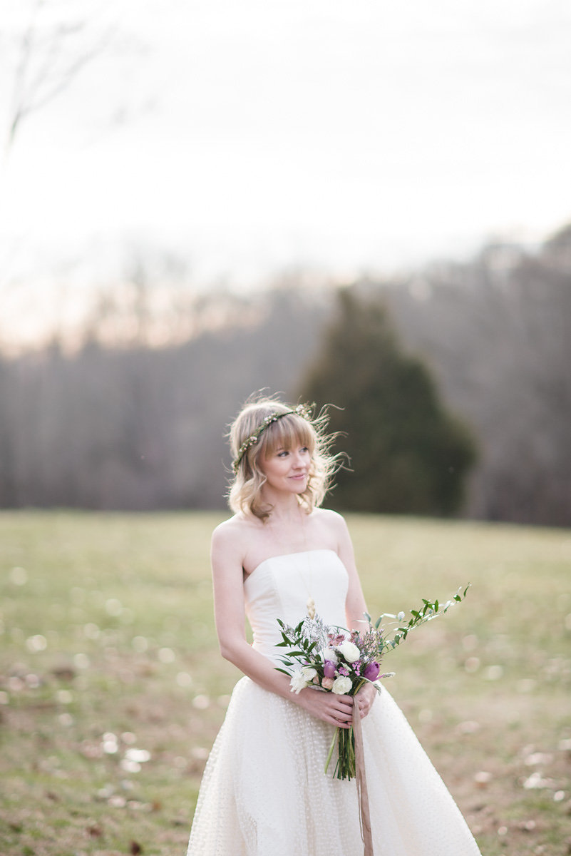 Southern bride by Emily Millay Photography