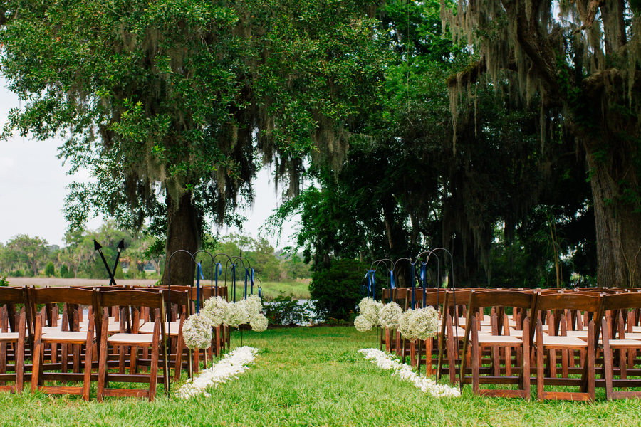 Magnolia Plantation and Gardens wedding in Charleston, SC