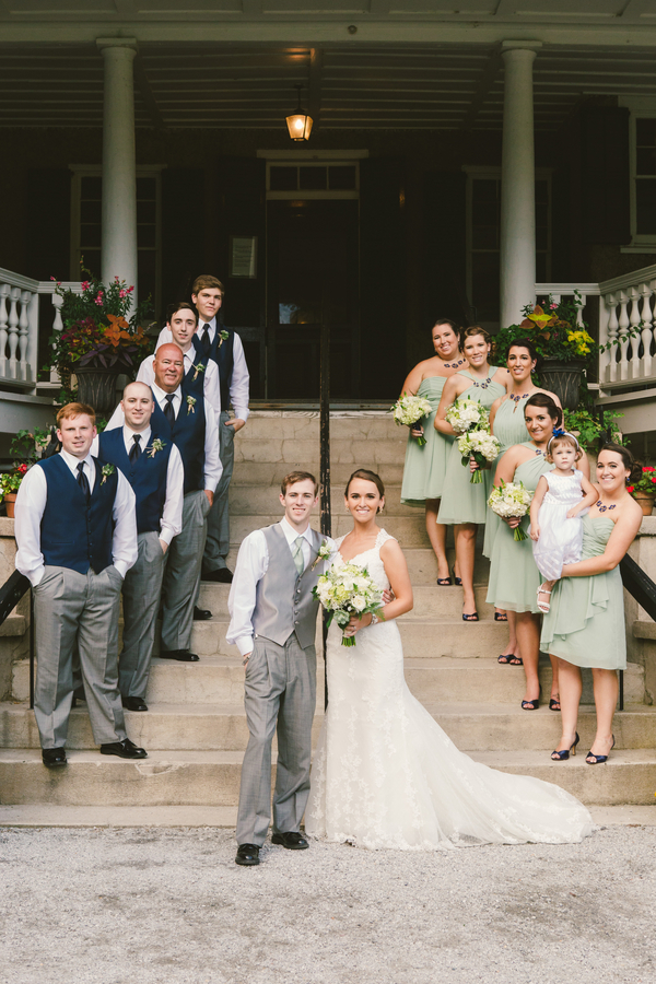 Rustic Charleston wedding