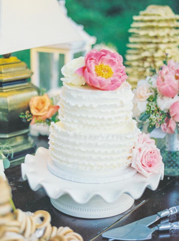 Litchfield Plantation wedding cake