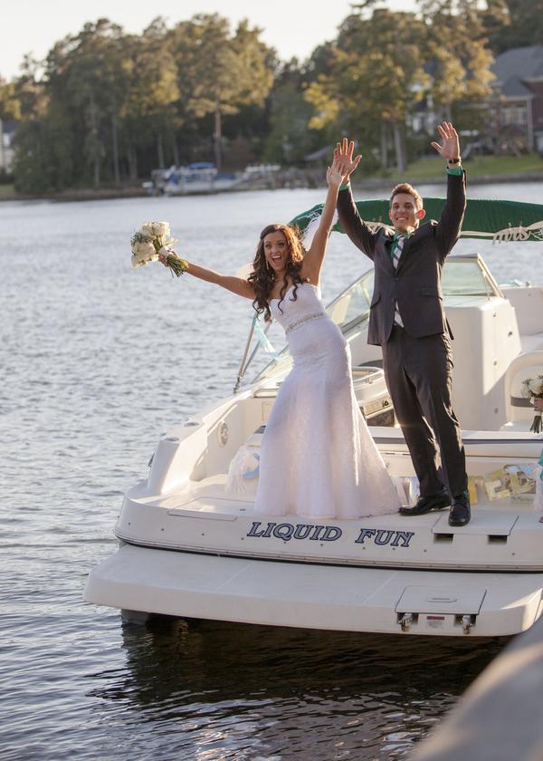 Lake Murray Wedding in Columbia, SC