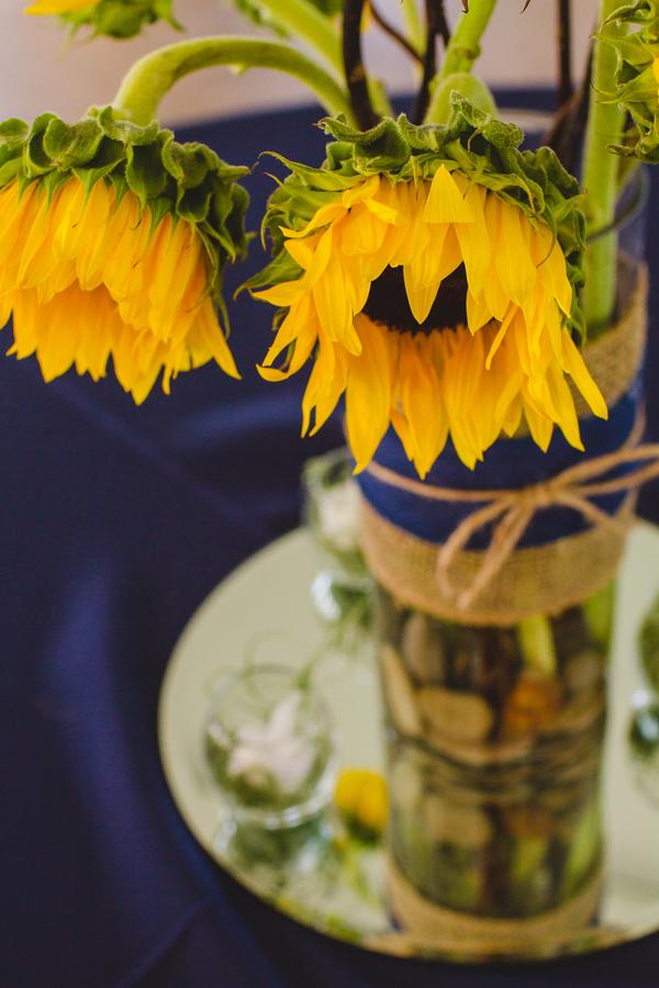 Sunflower Wedding Details