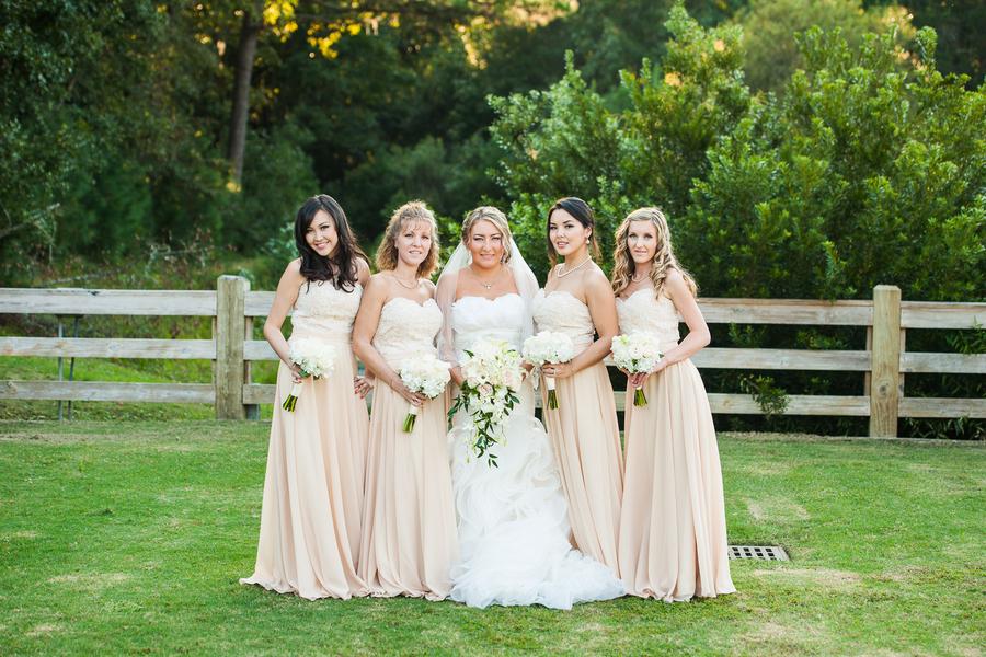 Bridesmaids at Pepper Plantation