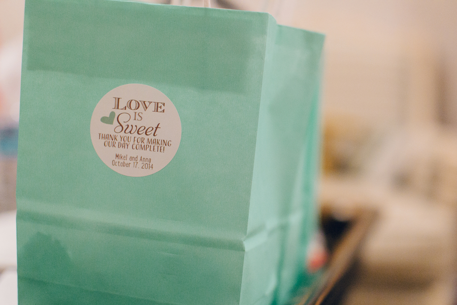 Charleston wedding welcome bags