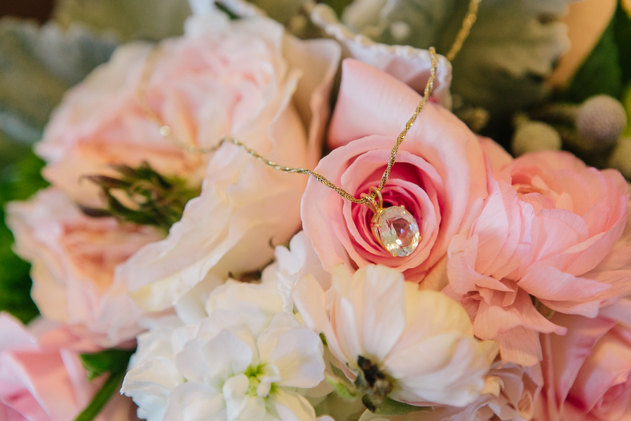 Charleston wedding necklace
