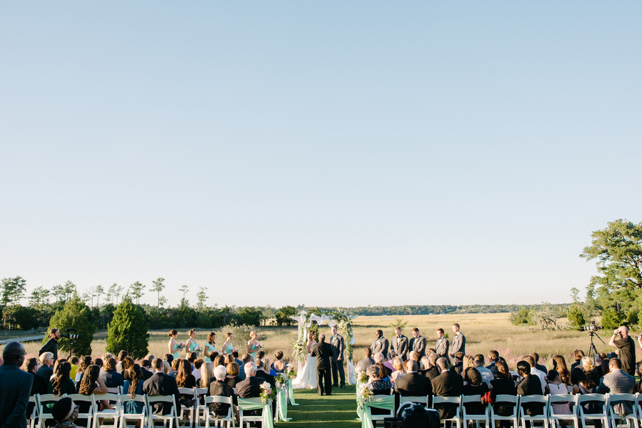 Daniel Island Club wedding ceremony