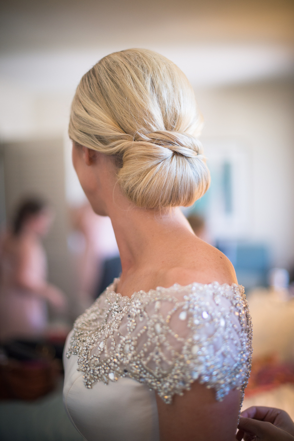 Charleston Wedding Hair Updo