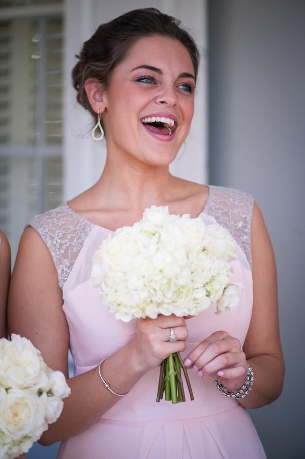 Charleston Bridesmaid in Pink Dress