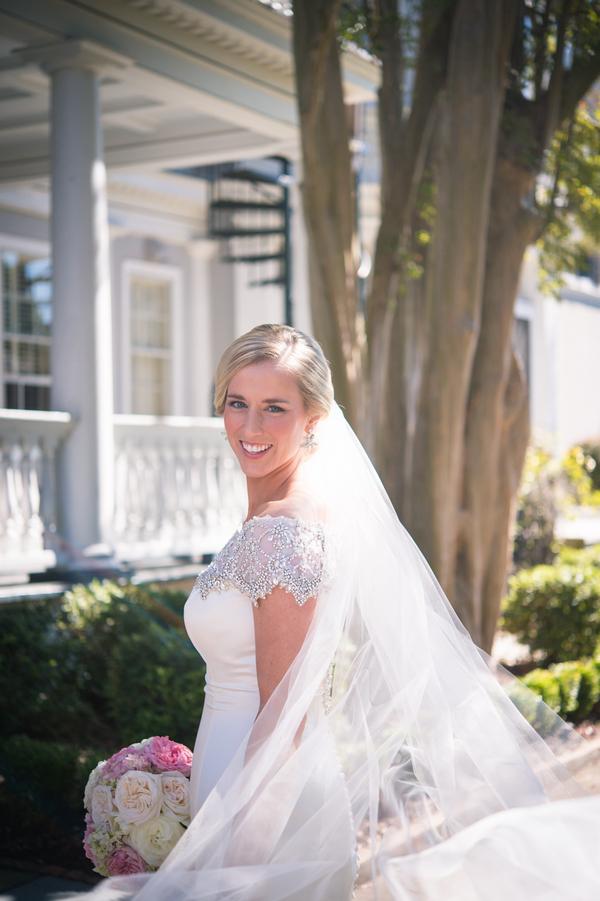 Charleston wedding at Mills House