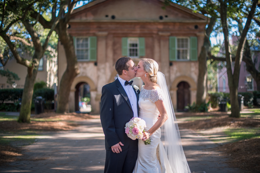 Charleston wedding at College of Charleston