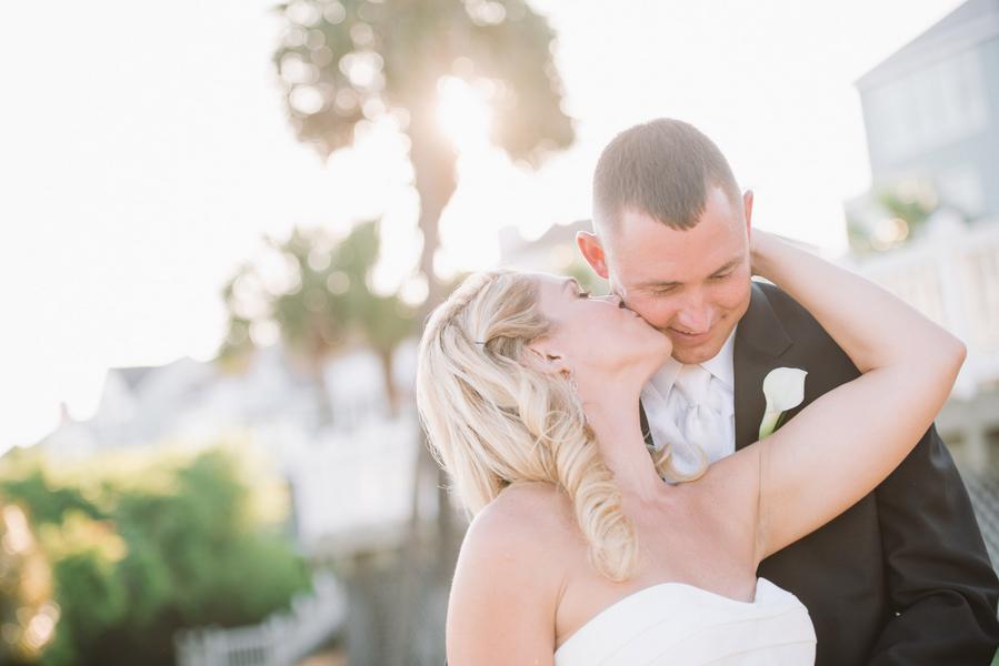 Beach wedding by Joshua Aaron Photography
