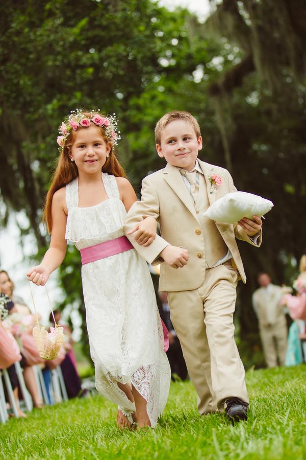 Charleston Flower girl and Ring bearer