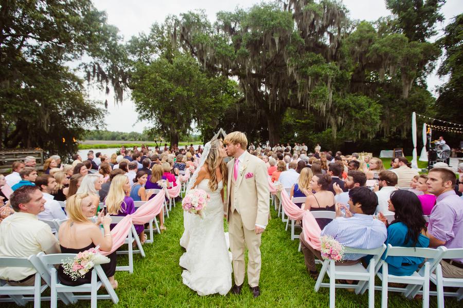 Outdoor Ceremony at Magnolia Plantation