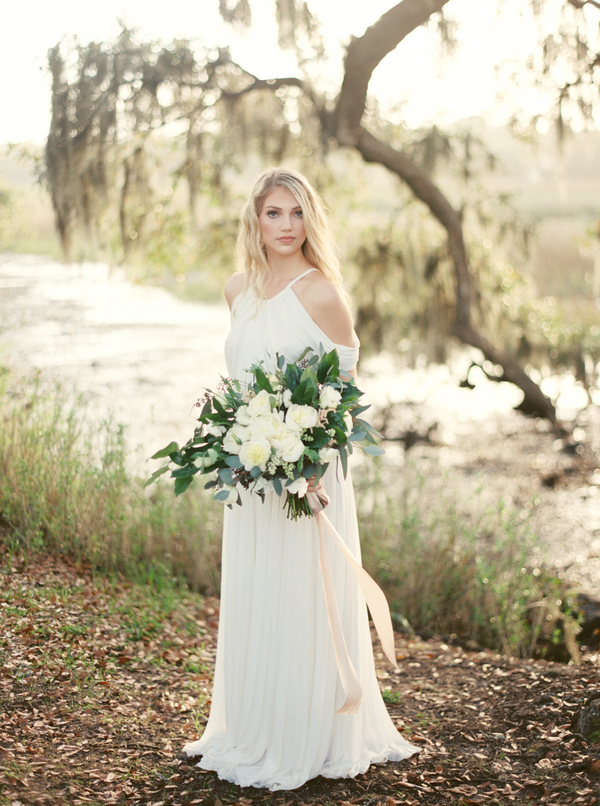 Grecian Charleston wedding gown