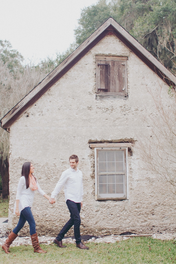 Lowcountry wedding Engagement session