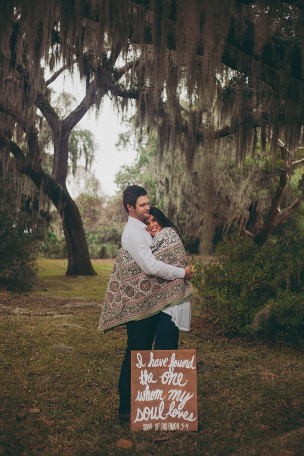 Lowcountry Engagement by Mintwood Photo Co.