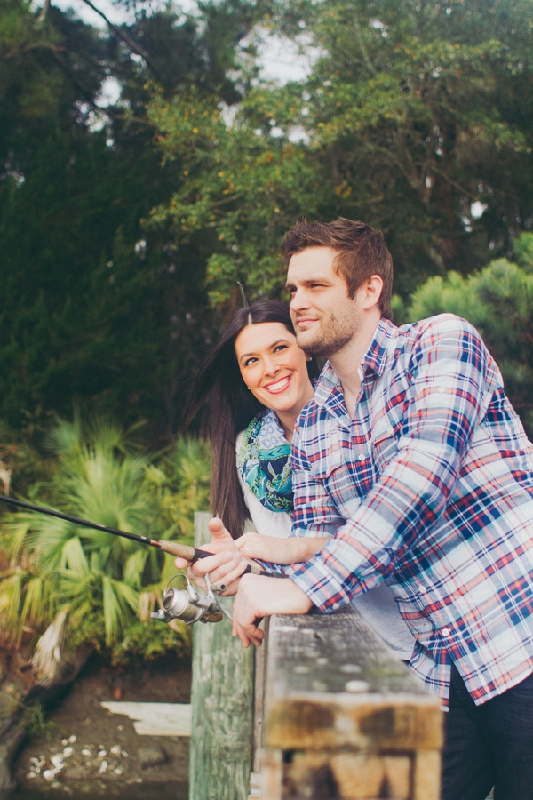 Engagement session in the Lowcountry by Mintwood Photo Co.