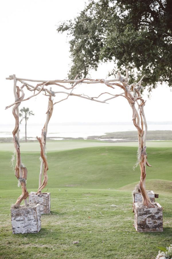 Charleston ceremony alter