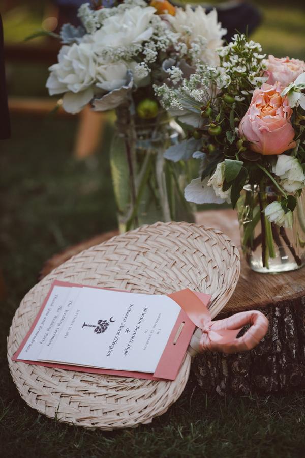 Charleston Wedding Fans & Programs