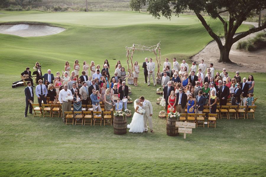 River Course Outdoor Wedding Ceremony