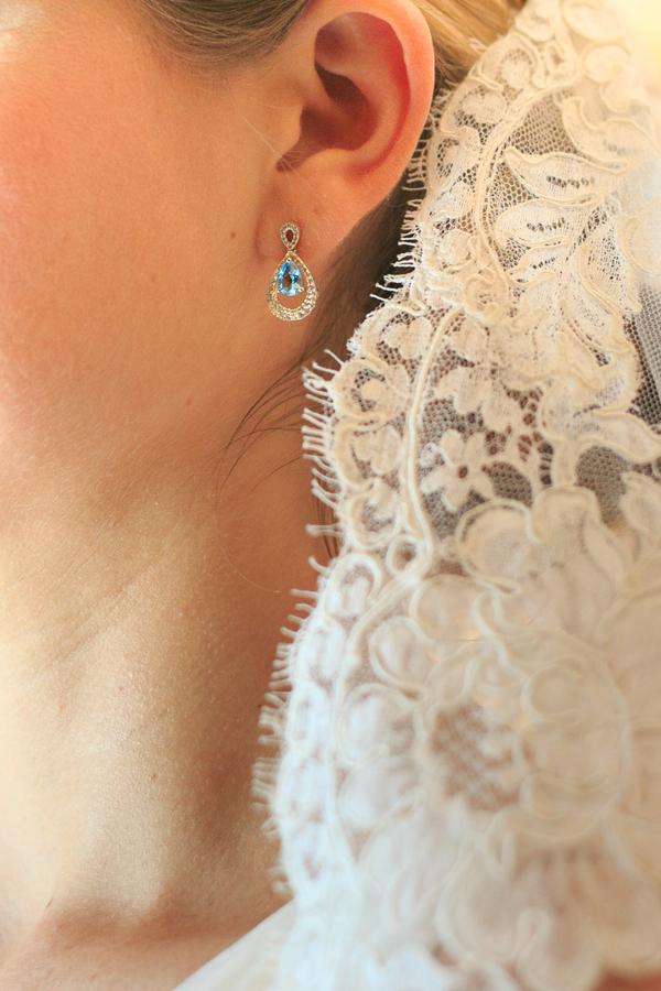 Charleston wedding veil