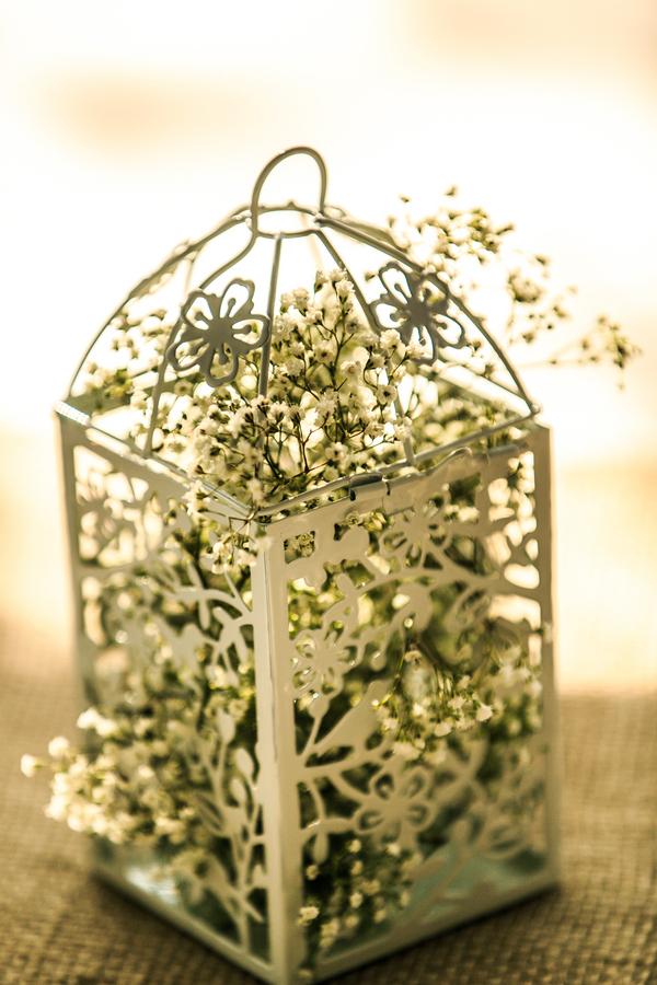 Baby's Breath Wedding Centerpiece
