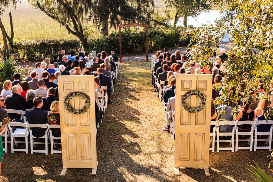 Creek Club at I'On Wedding Ceremony