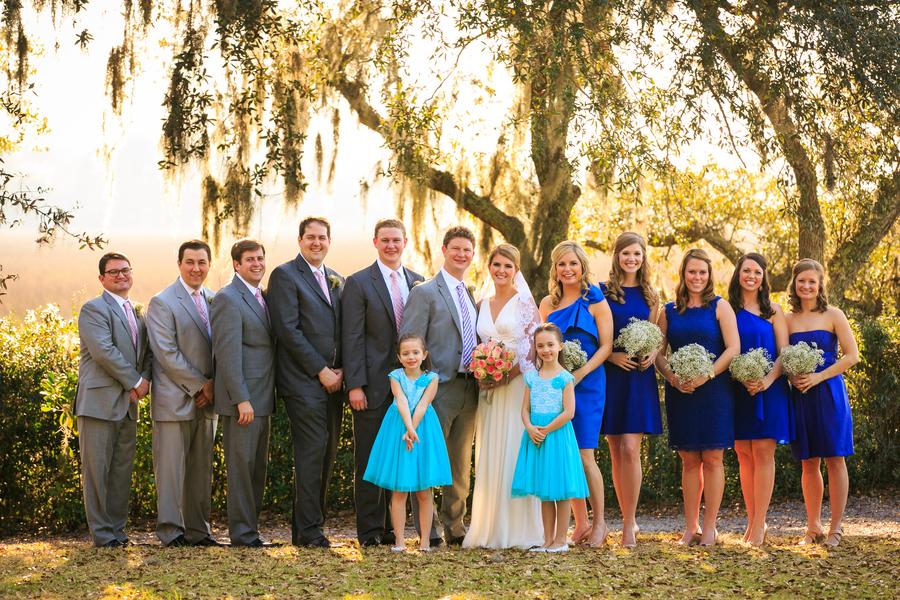Blue Charleston Wedding