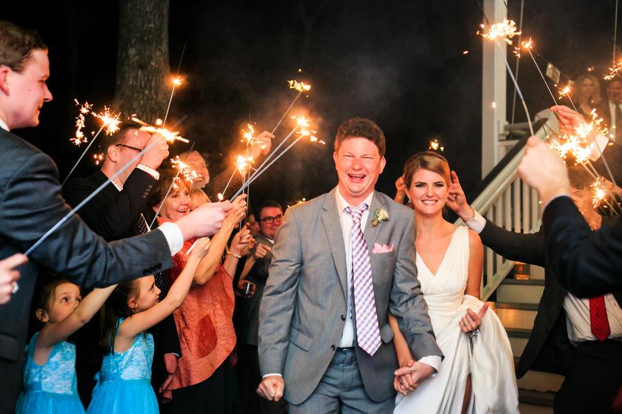 Creek Club at I'On wedding reception photos