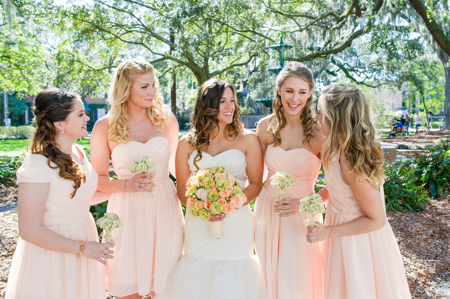 Savannah Wedding at Forsyth Park