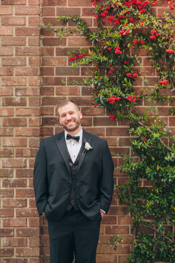 Charleston Groom in Black Tux