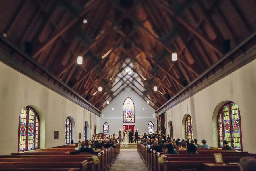 St. Luke's Chapel Wedding Ceremony