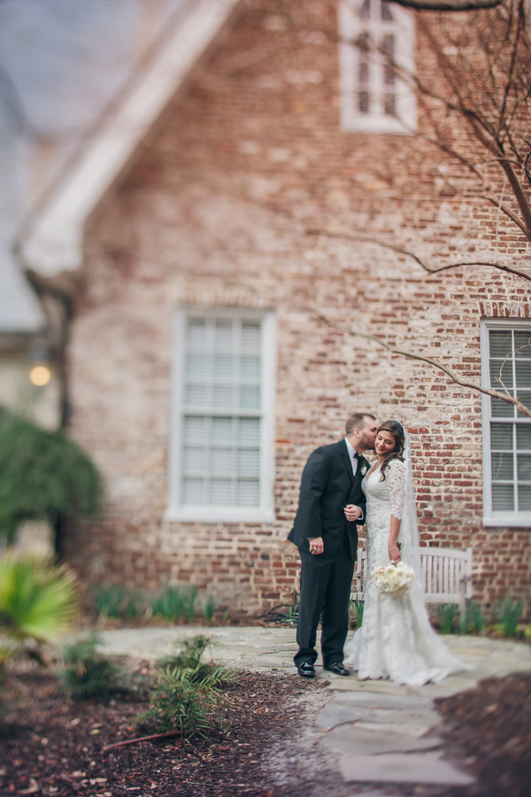 Charleston Wedding at St. Luke's Chapel