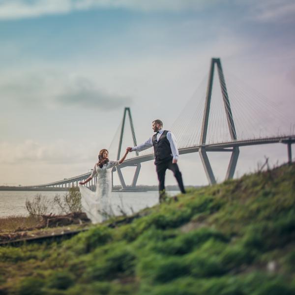 Charleston wedding at Harborside East